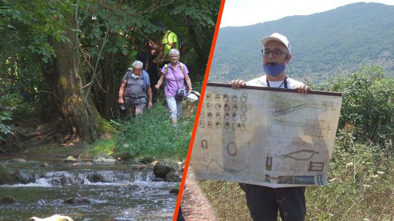 Capistrello, affluenza oltre le aspettative al trekking dell'Emissario, soddisfatti gli organizzatori