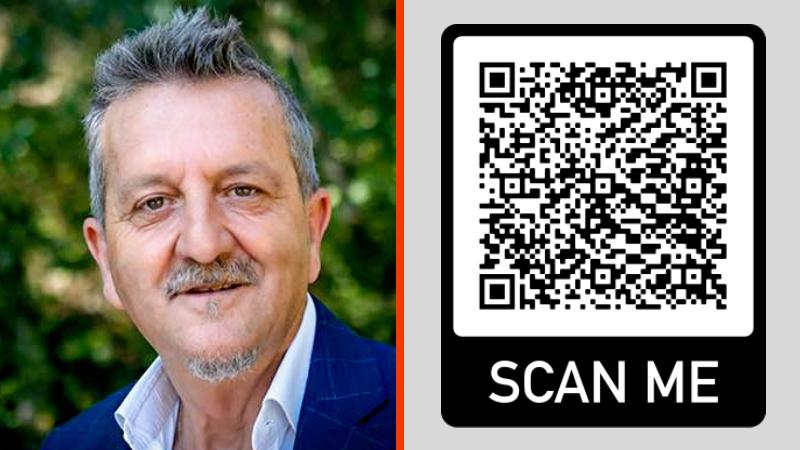 QR Code per la campagna elettorale di Gianni Di Pangrazio