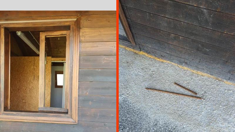 """Cerchio, atti vandalici al centro sportivo """"Orto Sereno"""", rompono la finestra per poter entrare negli spogliatoi"""