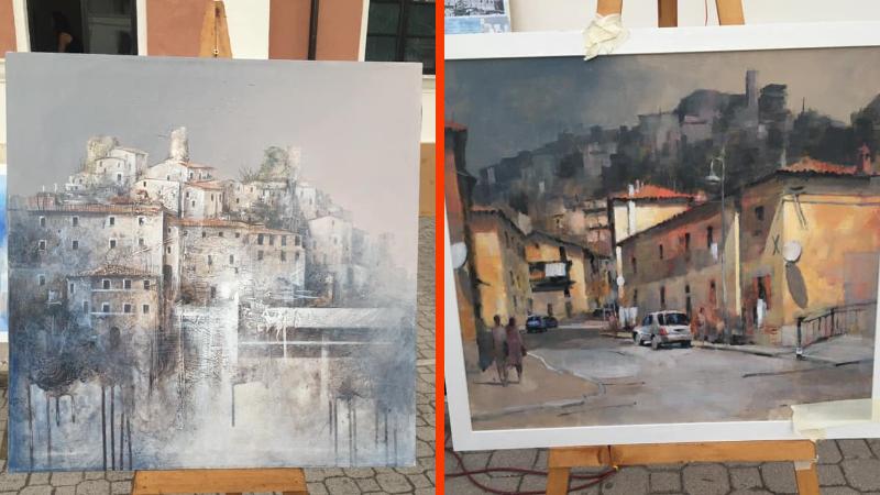 """Carsoli, concorso di Pittura """"La Portella"""", ecco i vincitori"""