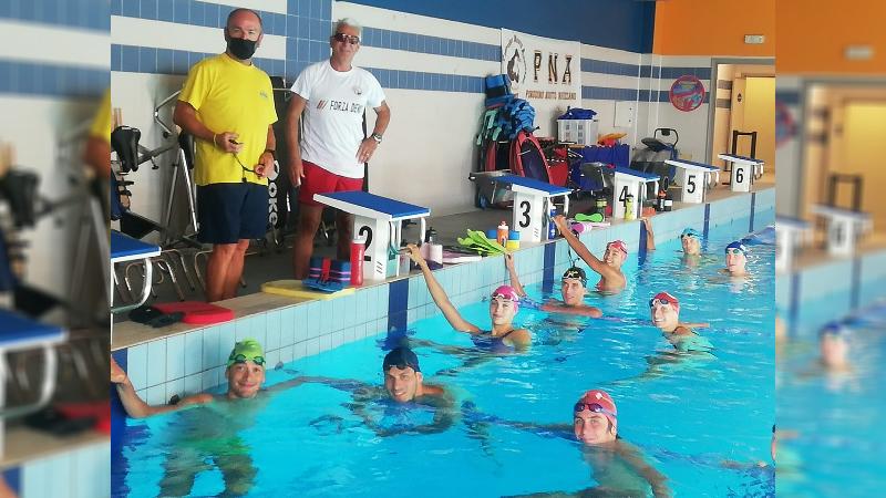 Triathlon, la nazionale junior si allena alla Pinguino di Avezzano