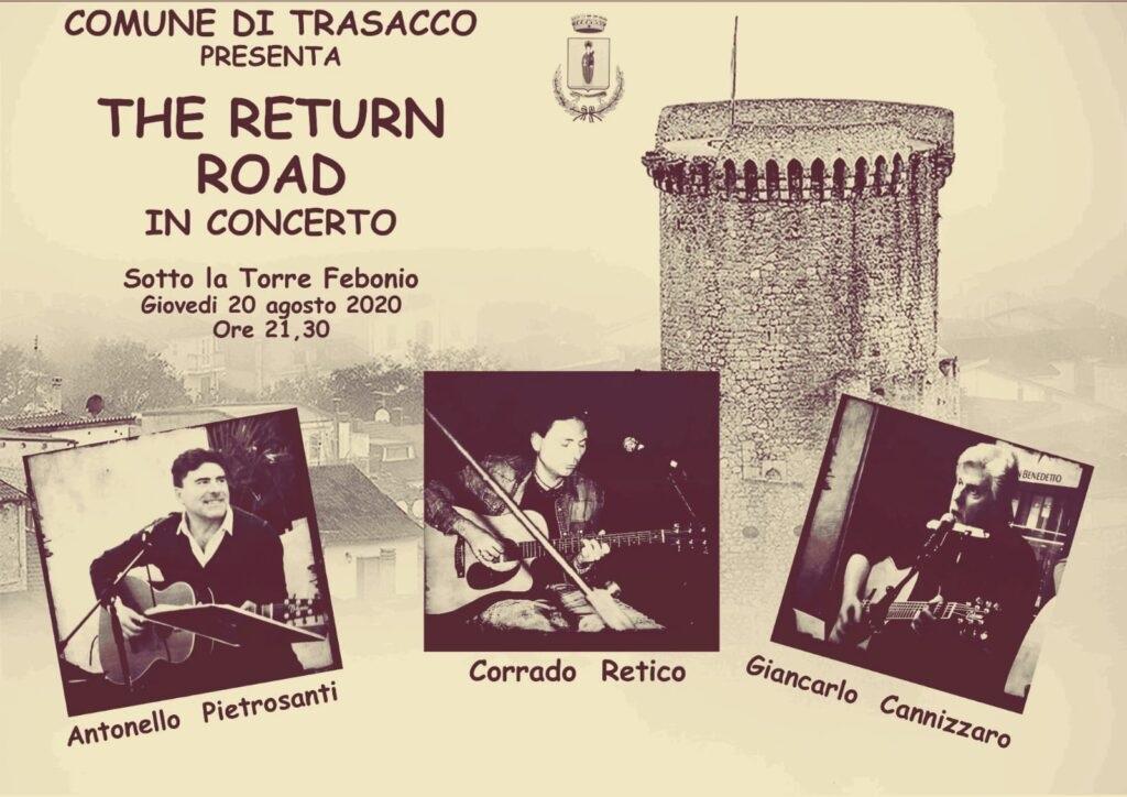 Appuntamento a Trasacco: giornata ecologica e concerto del gruppo The Return Road