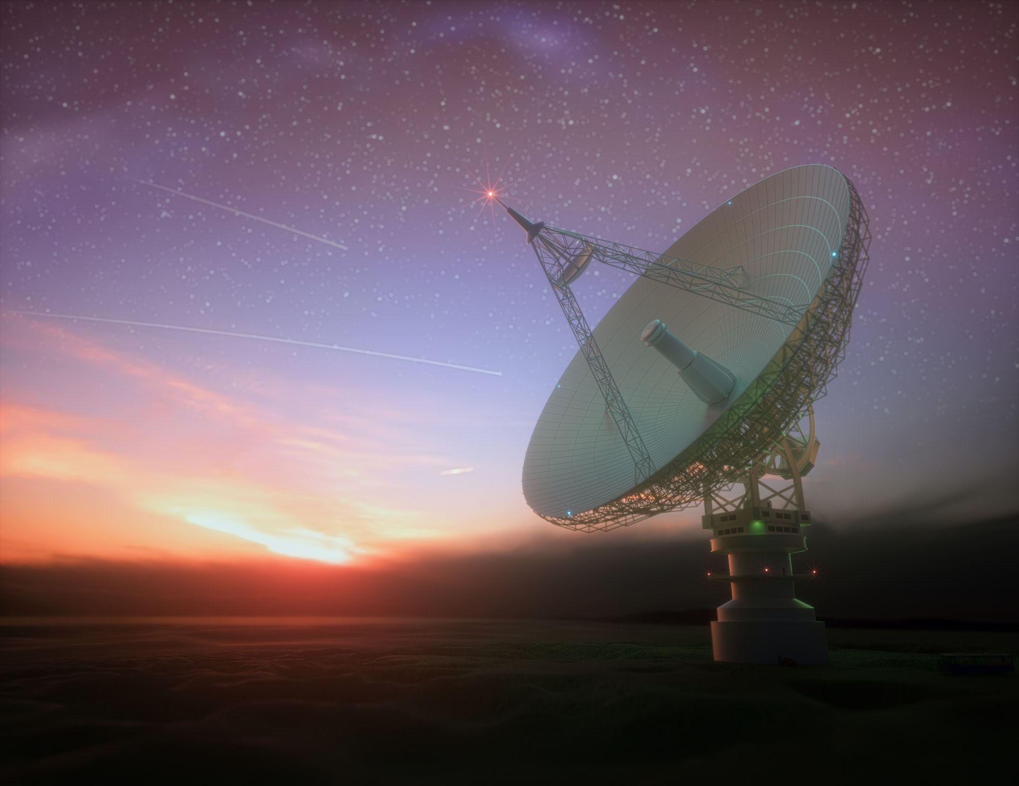 Signal From Galaxy