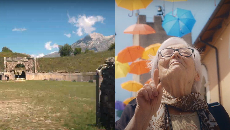 """Alba Fucens e Aielli nello spot """"Viaggio in Italia per un'estate italiana"""" del MiBACT"""