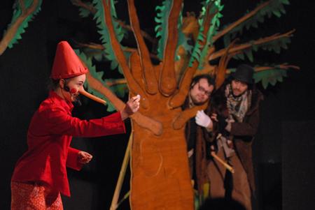 Pinocchio in scena ad Avezzano