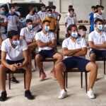 Celano calcio, il sindaco Settimio Santilli ha incontrato i ragazzi della prima squadra, del settore giovanile e lo staff tecnico e societario biancazzurro