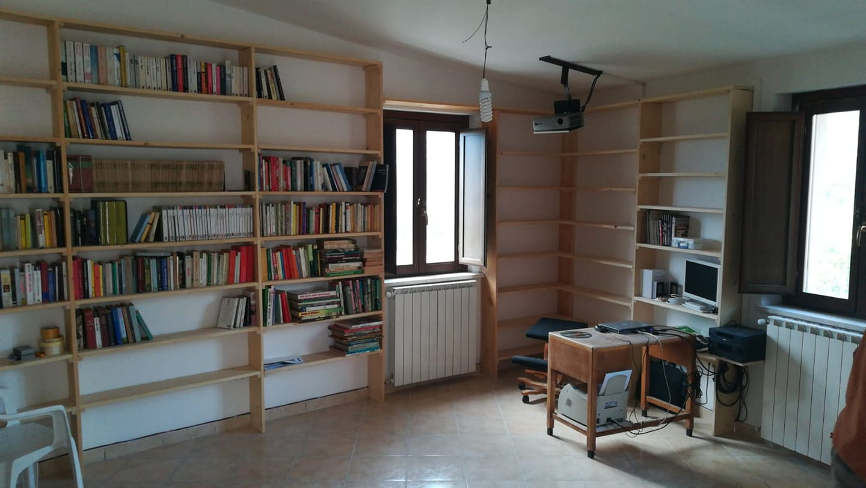 Una biblioteca pubblica ad Aielli