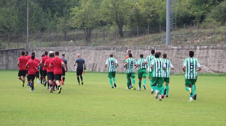 Avezzano calcio, sconfitta di misura nell'amichevole contro il Foggia, finisce 1-0
