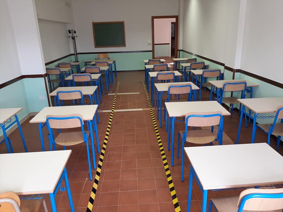 San Benedetto dei Marsi, conclusi in tempo i lavori alla scuola