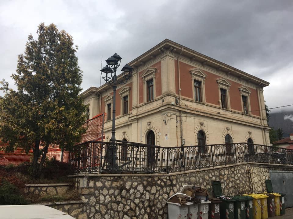 Lavori di messa in sicurezza ed adeguamento sismico del Palazzo Comunale di Magliano de' Marsi