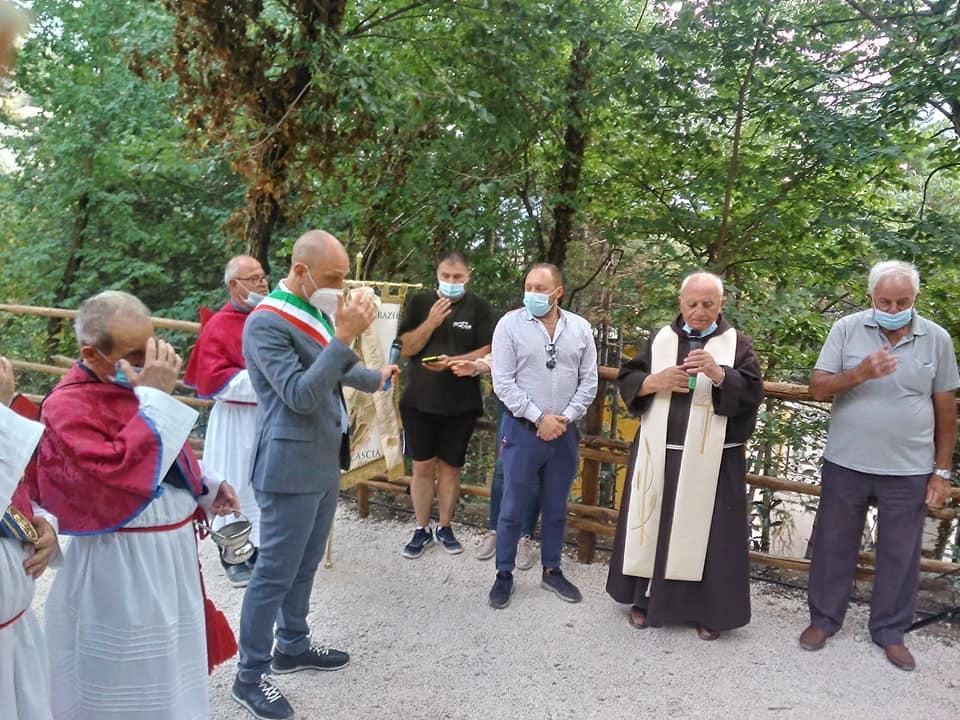 """Celano: inaugurato il parco sensoriale """"Santa Rita"""", il sindaco Santilli: """"abbiamo ridato alla città uno spazio a misura di bambino"""""""
