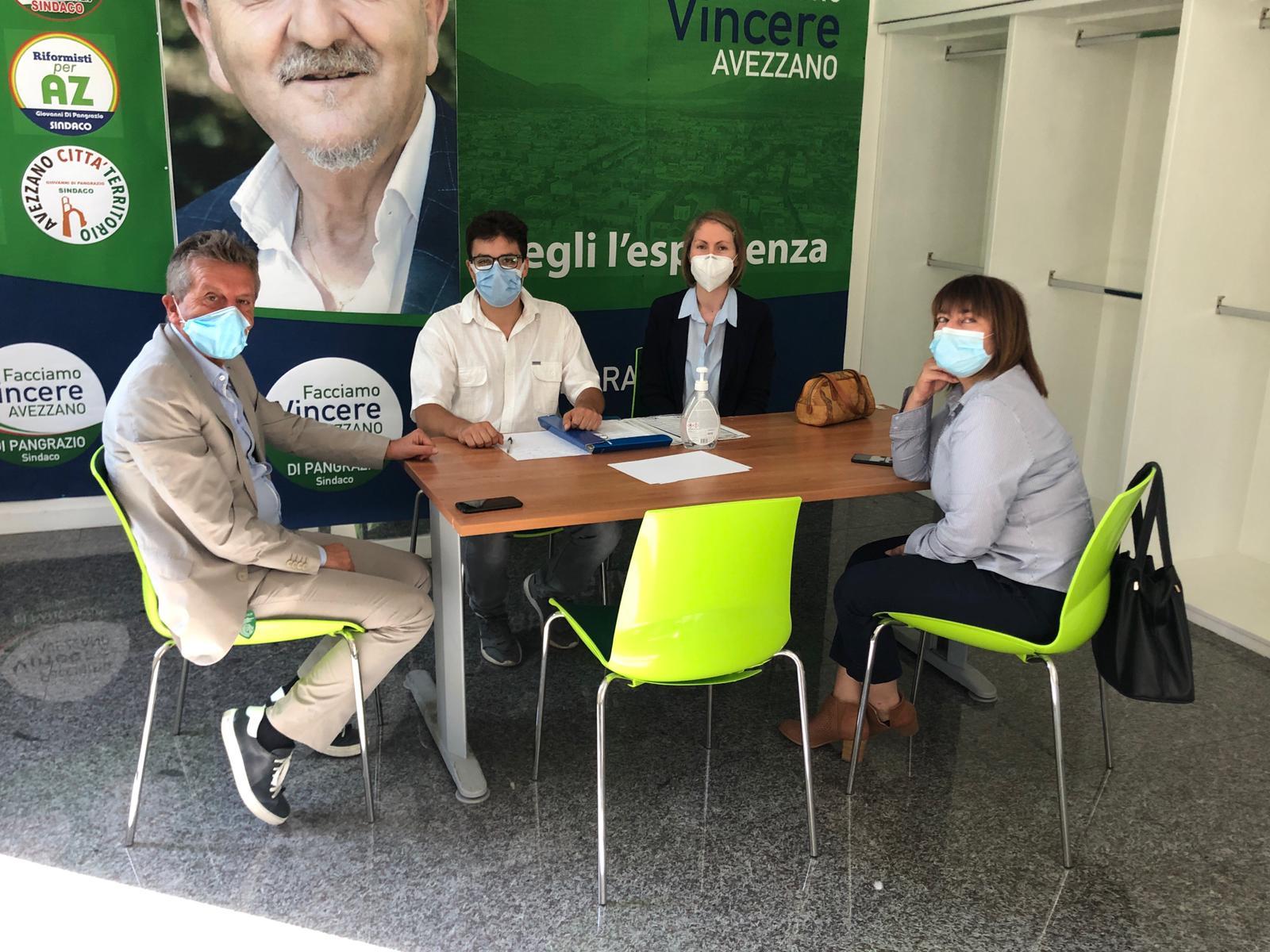 """Di Pangrazio incontra UniMov, associazione studentesca della facoltà di Giurisprudenza, """"L'università ad Avezzano è un patrimonio che va salvaguardato e protetto"""""""