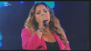 La cantante avezzanese Laura Fantauzzo alla finalissima del Festival di Castrocaro 2020