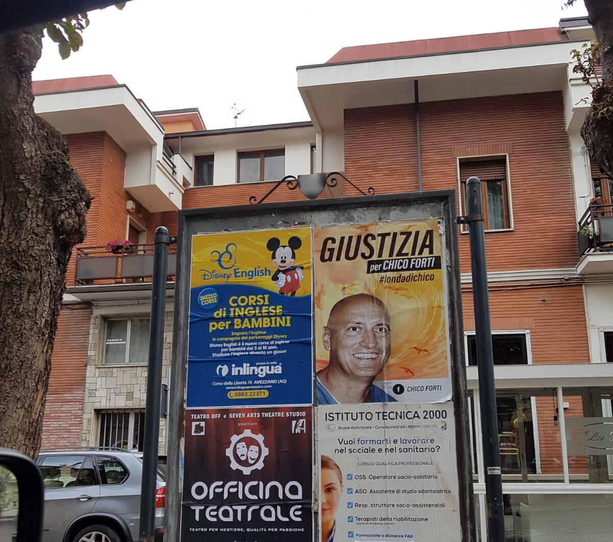 """Il movimento """"Giustizia per Chico Forti"""" arriva anche nella Marsica"""