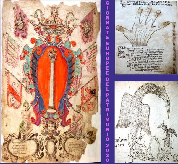"""Tornano le Giornate Europee del Patrimonio con una mostra dal titolo: """"Espressioni artistiche nelle pagine dei catasti antichi marsicani"""""""