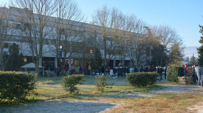 Primi giorni di scuola all'istituto Agrario Serpieri