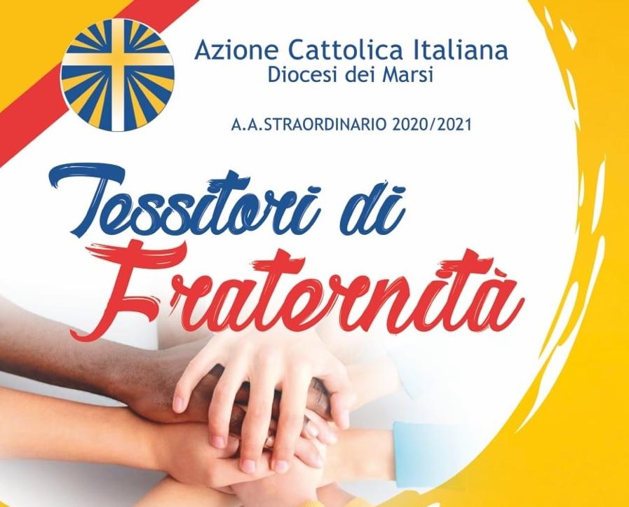 """""""Tessitori di Fraternità"""", incontro con il Presidente Nazionale dell'Azione Cattolica Italiana Matteo Truffelli"""