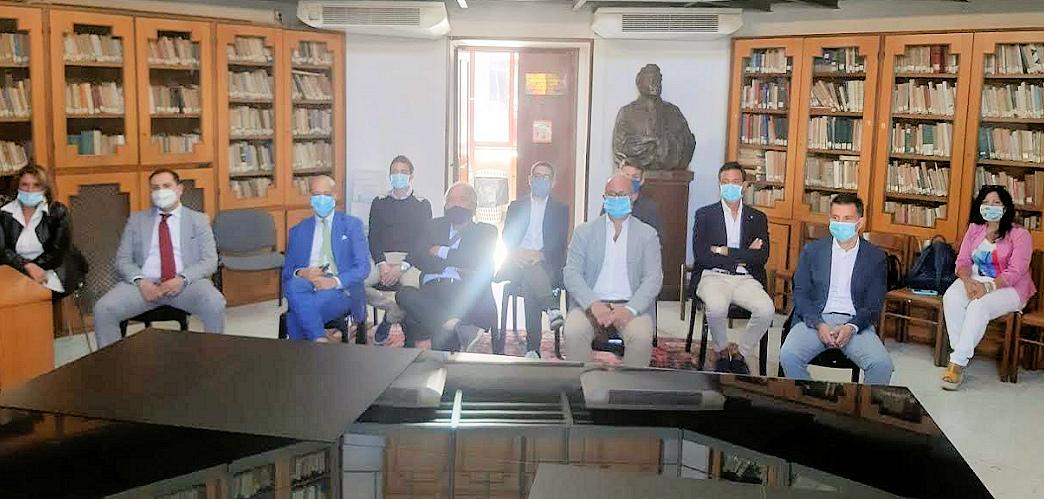 Tribunale Avezzano, Di Pangrazio incontra il presidente Colucci