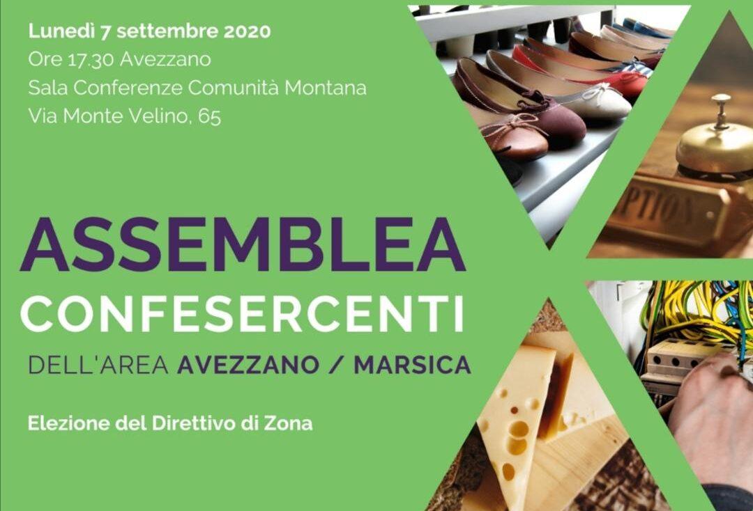 Assemblea elettiva Confesercenti dell'Area Avezzano/Marsica