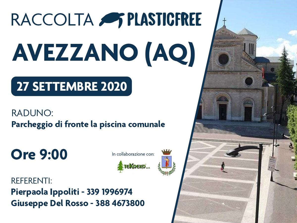 Avezzano, domani 27 settembre si svolgerà la seconda giornata ecologica Plastic Free