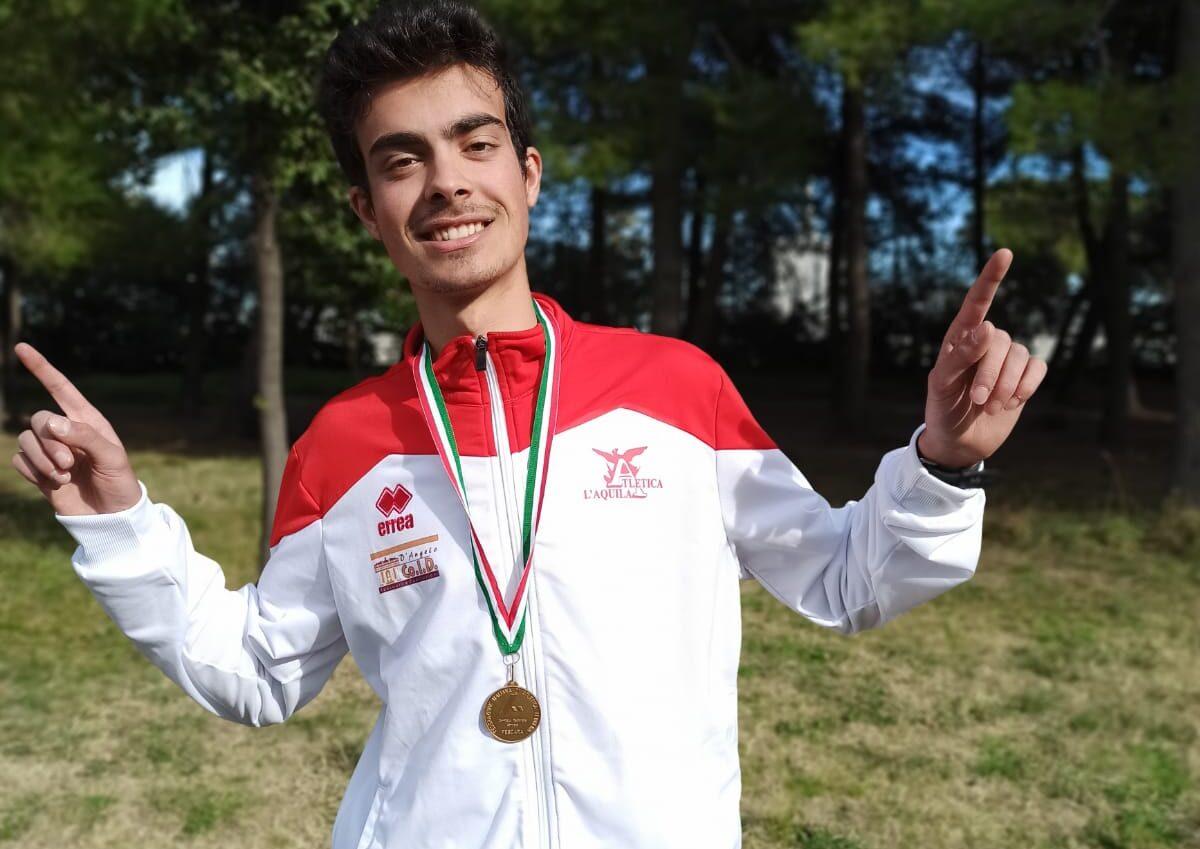 Atletica leggera: l'avezzanese Roberto Di Stefano si aggiudica la vittoria ai campionati regionali