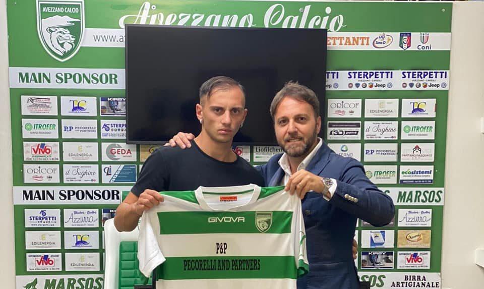 Avezzano Calcio, nuovo rinforzo per Rullo: ecco il terzino Matteo Loizzo