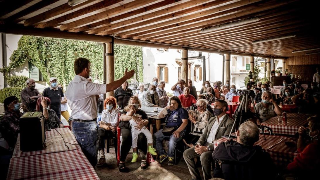 Elezioni Cappadocia, gran successo per la presentazione della lista Cappadocia nel cuore: presentati candidati e programma