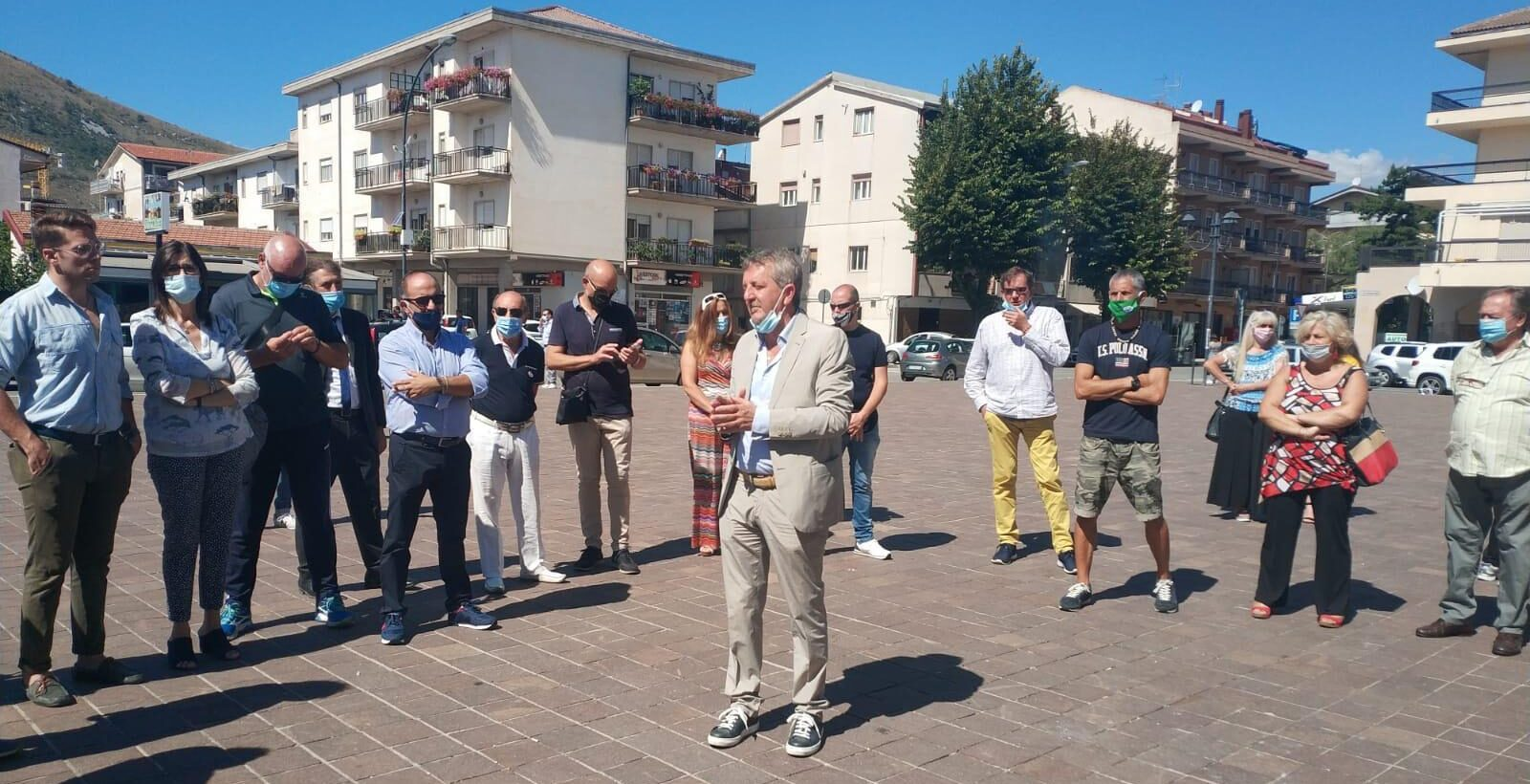 Il candidato Sindaco Gianni Di Pangrazio incontra i residenti del quartiere Madonna del Passo
