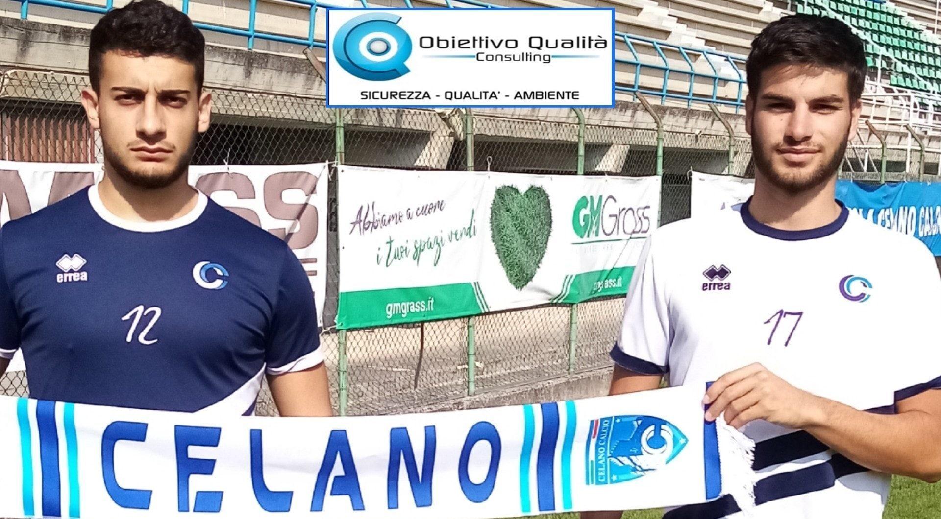 ASD Celano Calcio, ufficiale l'arrivo di 4 nuovi Under: Ranalletta, Valente, D'Alesio e Oddi
