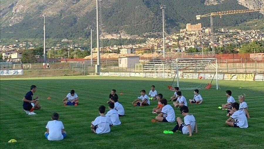 La Scuola Calcio dell'ASD Celano torna in campo nel rispetto delle norme anti-Covid