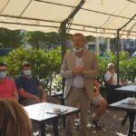 Di Pangrazio incontra residenti e commercianti di Piazza Cavour