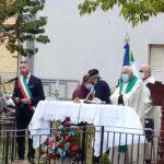 Collocata nel parco della Giorgina a Tagliacozzo la statua della Virgo Fidelis benedetta da Papa Francesco