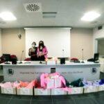 """Consegnati 850 cuori all'Ospedale San Salvatore di L'Aquila grazie all'Iniziativa nazionale solidale """"Grazie col cuore"""""""