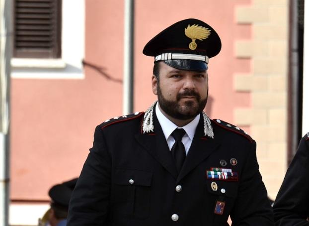 Il comandante dei carabinieri Pietro Fiano saluta la Compagnia di Avezzano, al suo posto arriverà il Capitano Luigi Strianese,