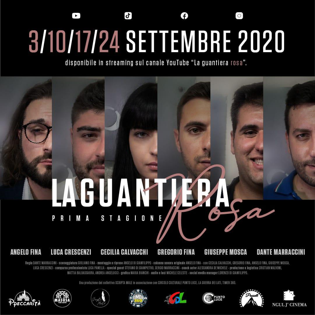 """Arriva su YouTube """"La Guantiera Rosa"""", la web-serie girata dal collettivo Scripta Male di Luco"""