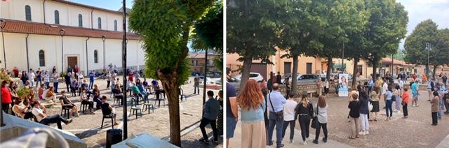 Attenzione a periferie e frazioni. Taccone a Cese, San Pelino e Castelnuovo in incontri partecipatissimi