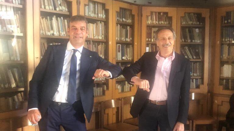 Antonio Del Boccio: il candidato Sindaco incontra il Presidente del Consiglio dell'Ordine di Avezzano