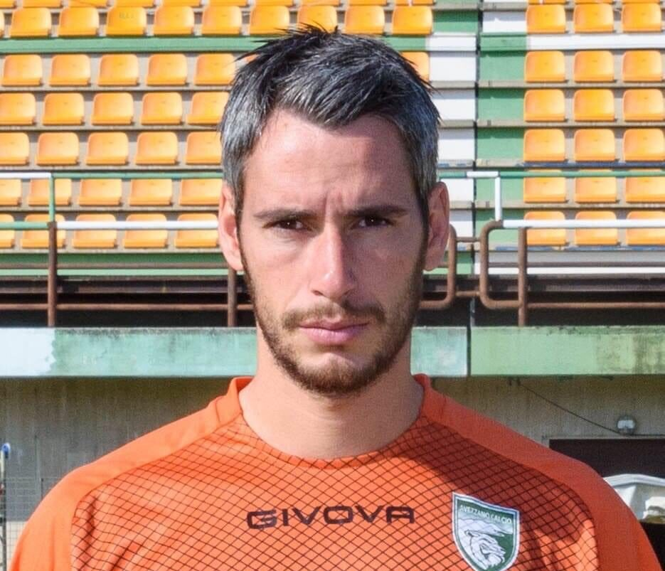 Avezzano Calcio, clamoroso: il portiere Francesco Cattenari fuori dalla rosa biancoverde