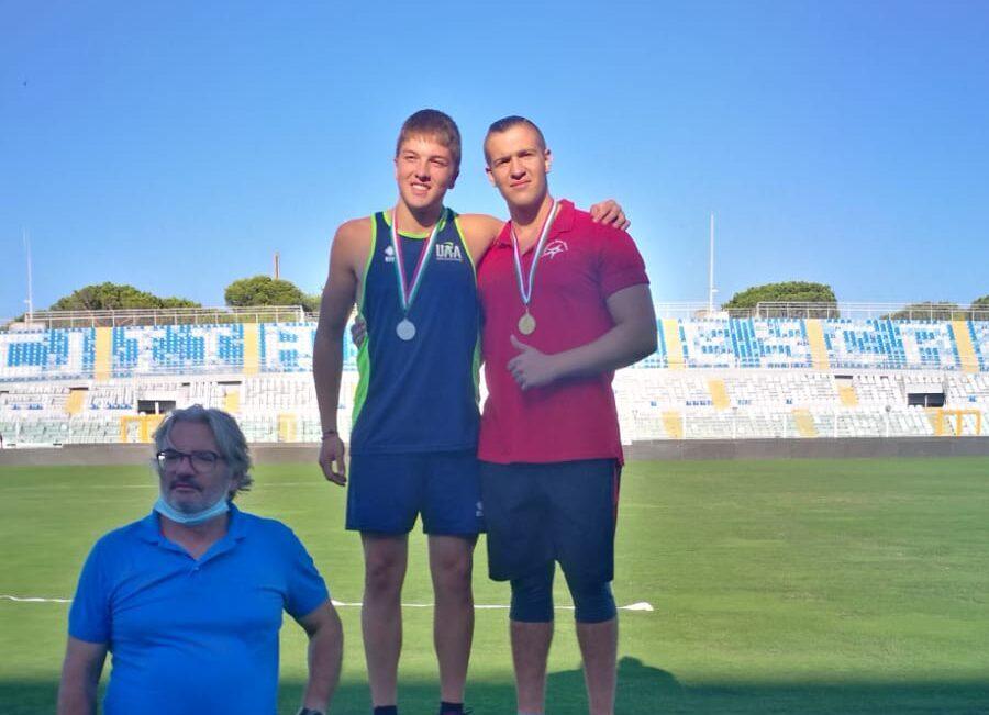 Atletica, Martini scalda il motore per gli Italiani: doppio titolo nel disco e nel martello ai Regionali U18