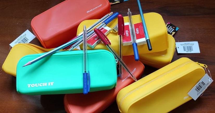 Materiale didattico donato agli alunni di Ortucchio