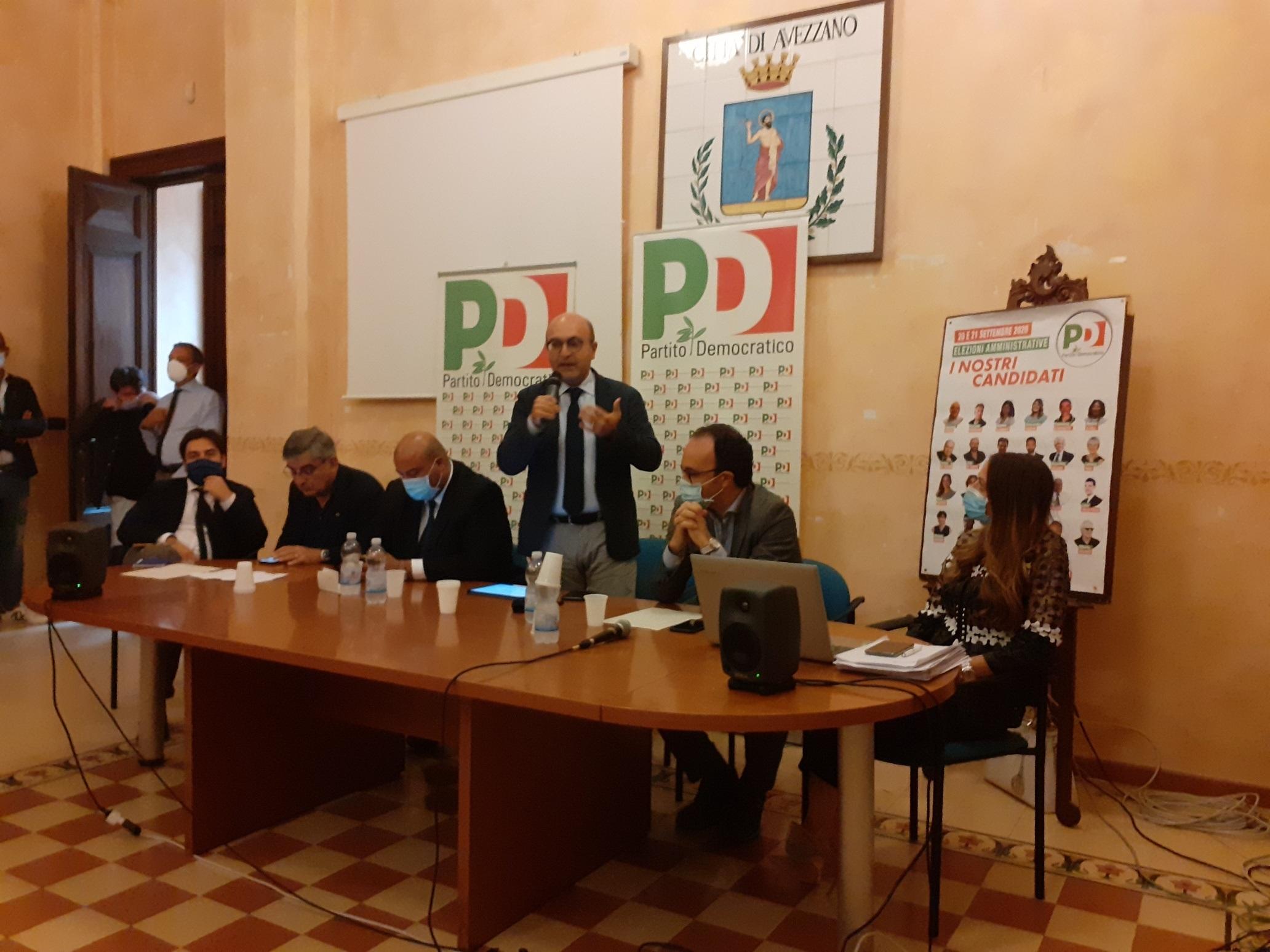 Il viceministro Misiani ad Avezzano parla di superbonus: Mario Babbo presente: «Gli amici del PD sono la mia squadra»