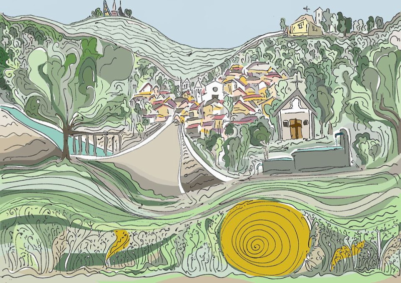 Onde palentine di Roberto Cipollone è il Murale per Cese