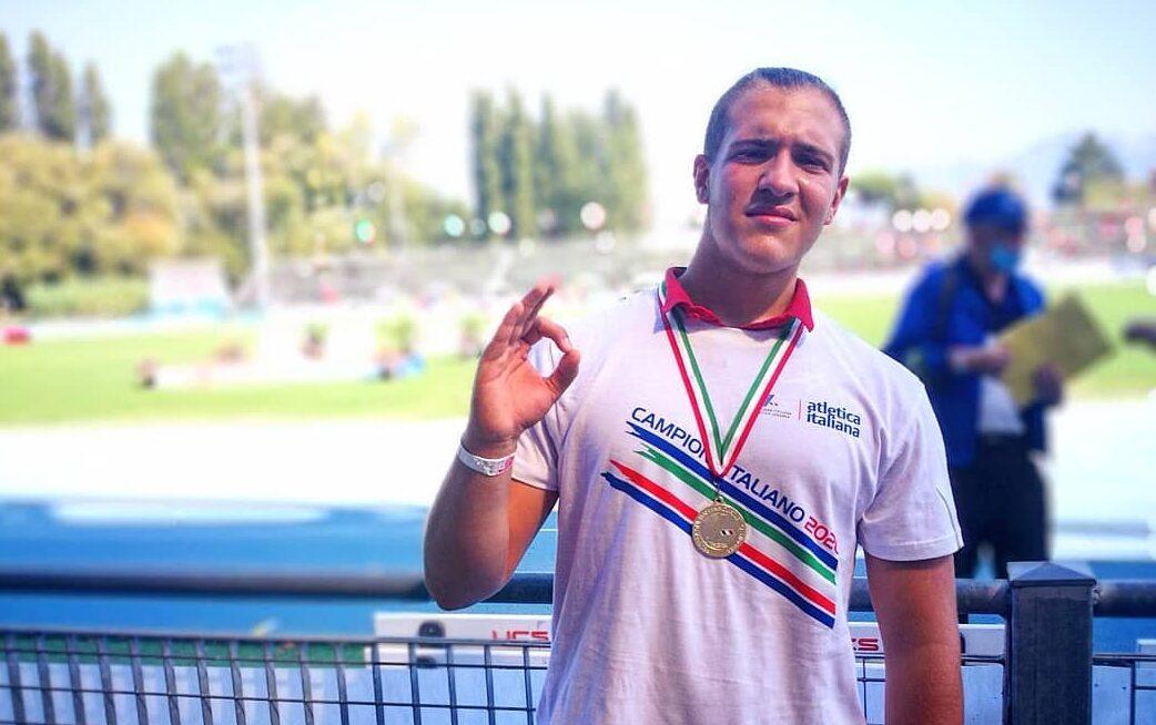 L'avezzanese Niccolò Martini diventa a sorpresa Campione Italiano U18 di lancio del disco