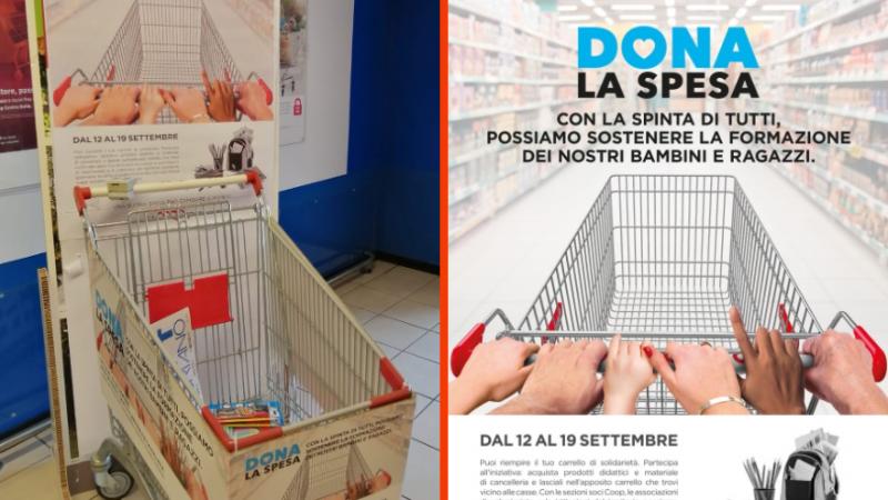 L'impegno di Coop Centro Italia per le scuole e per le famiglie più bisognose del territorio