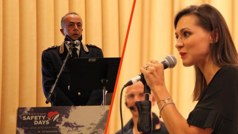 Prevenzione europea incidenti stradali: successo dell'iniziativa promossa dalla Polizia Stradale a L'Aquila