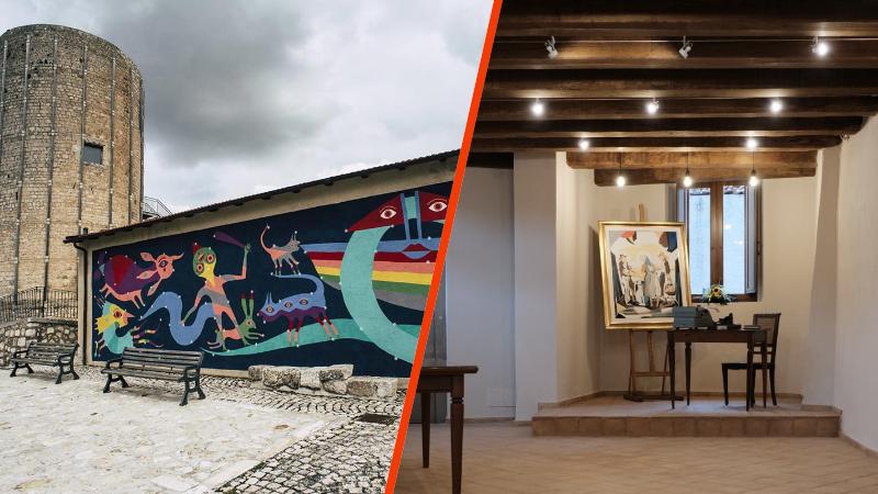 Il FAI, organizza una visita guidata ai murales di Aielli e al borgo di Pescina