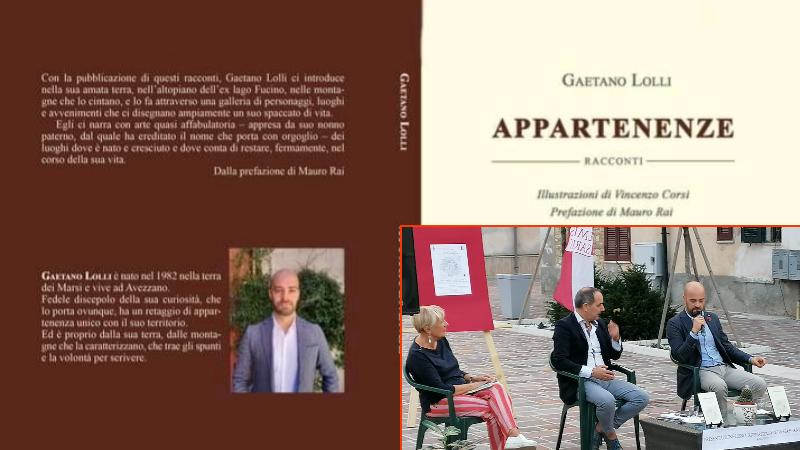 Appartenenze, il libro di Gaetano Lolli, un saliscendi di emozioni forti che accompagnano il lettore per tutto il tempo