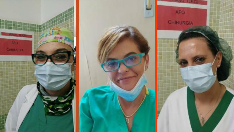 Tre marsicane premiate dalla Fondazione Onda per le donne in prima linea nell'emergenza Coronavirus