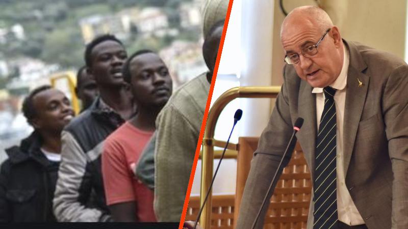 Sulla vicenda dei 25 migranti alloggiati a Paterno, il consigliere della Lega Angelosante, annuncia un esposto alla magistratura