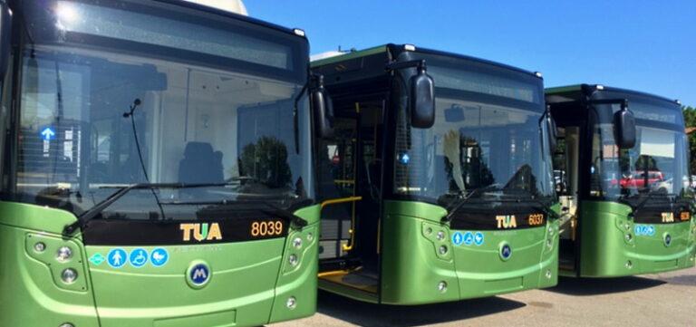 """TUA annuncia: nuovo minibus """"green"""" per Pescara e 8 nuovi bus di ultima generazione in servizio nell'area metropolitana Pescara e Chieti"""